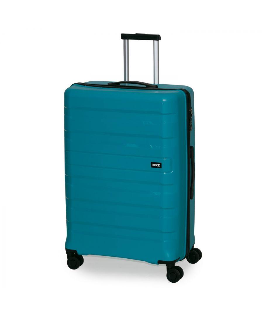 Image for Rock Skylar 76cm Hardshell Large Suitcase Blue