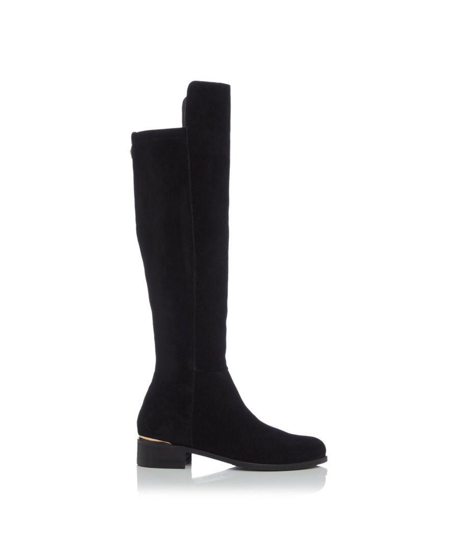 Image for Dune Ladies TRISCHE LUXE XX Embossed Knee Boots