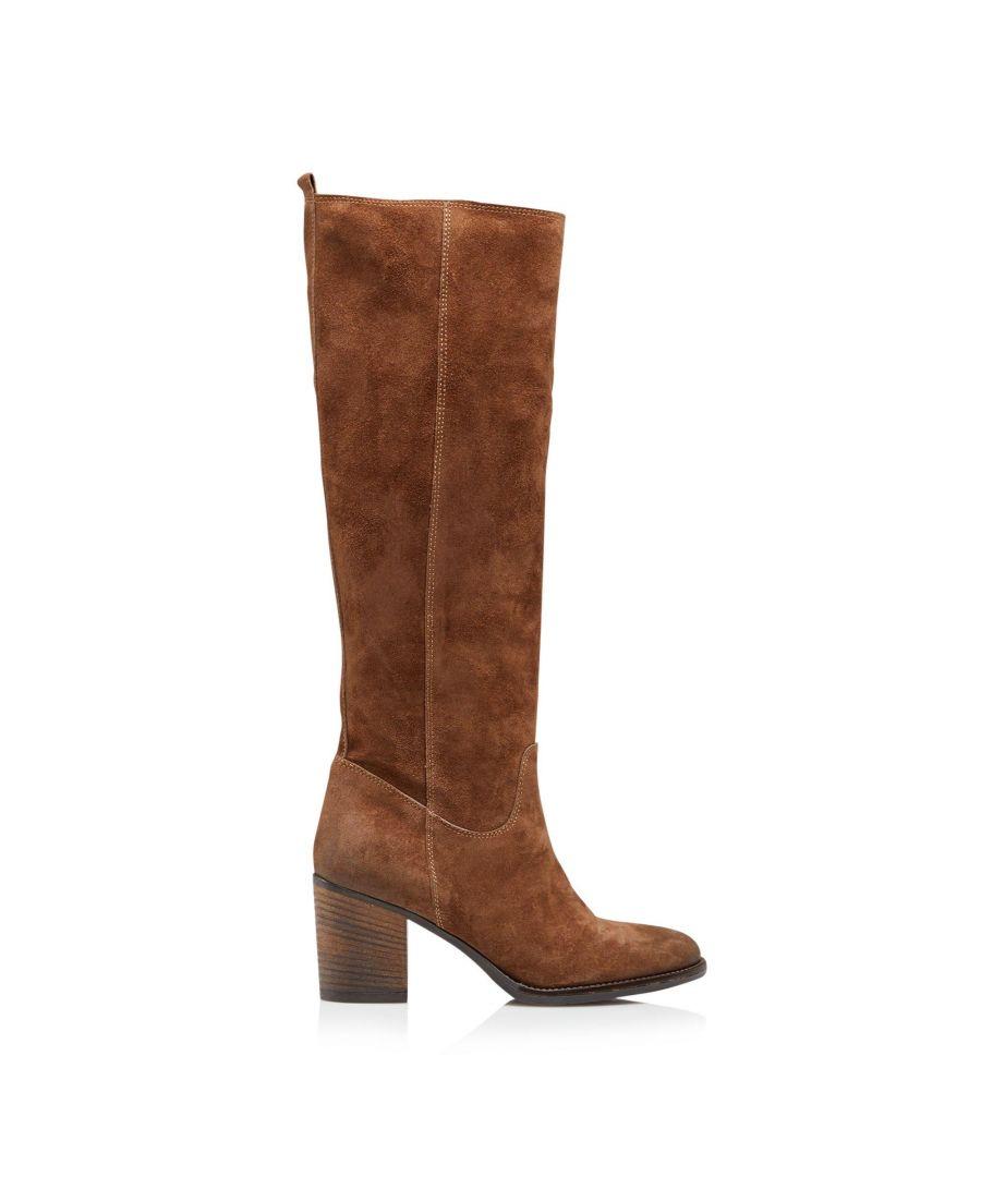 Image for Dune Ladies TROOP Mid Block Heel Knee High Boots