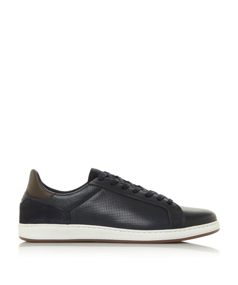 Image for Dune Mens TROPHY Perforated Chunky Trainers