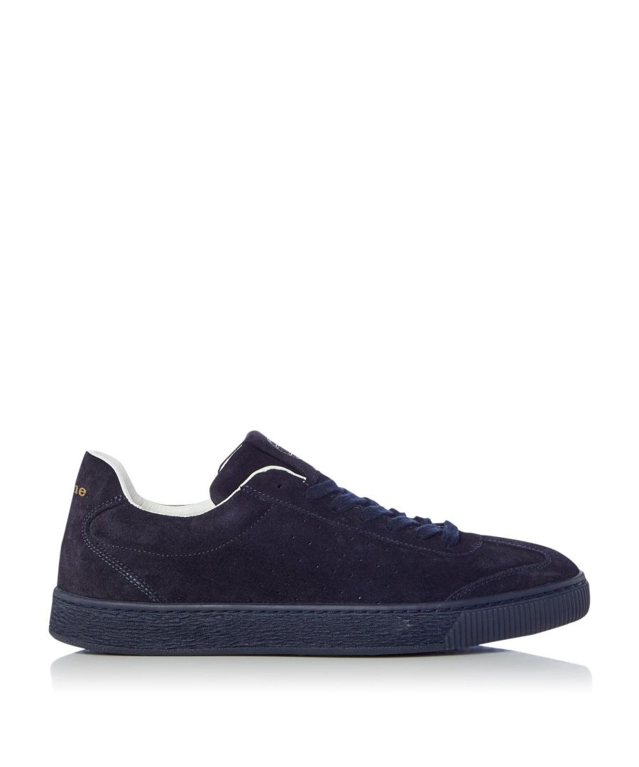 Image for Dune Mens TROUPE Logo Detail Lace Up Trainer