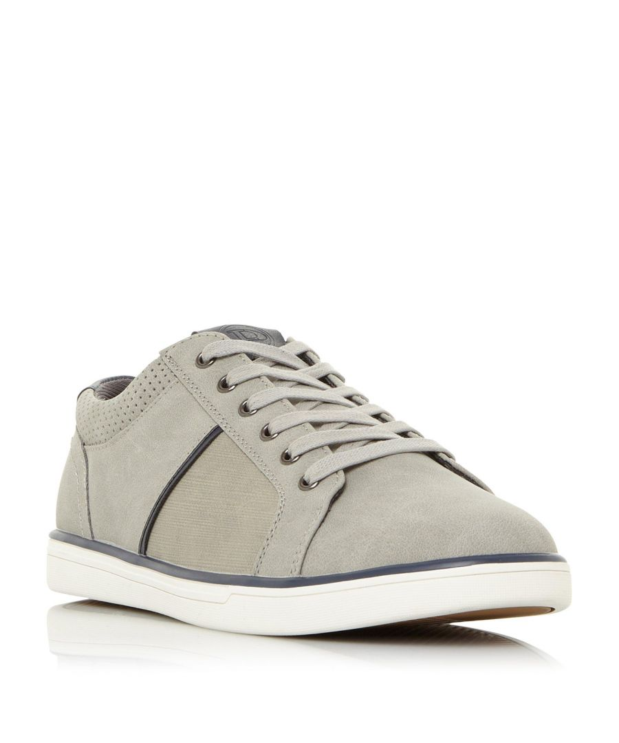 Image for Dune Mens TRUSTEE Contrasting Panel Trainer