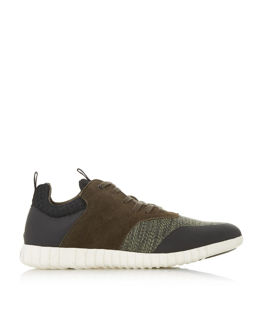 Image for Dune Mens TURAN Textured Lace Up Trainers