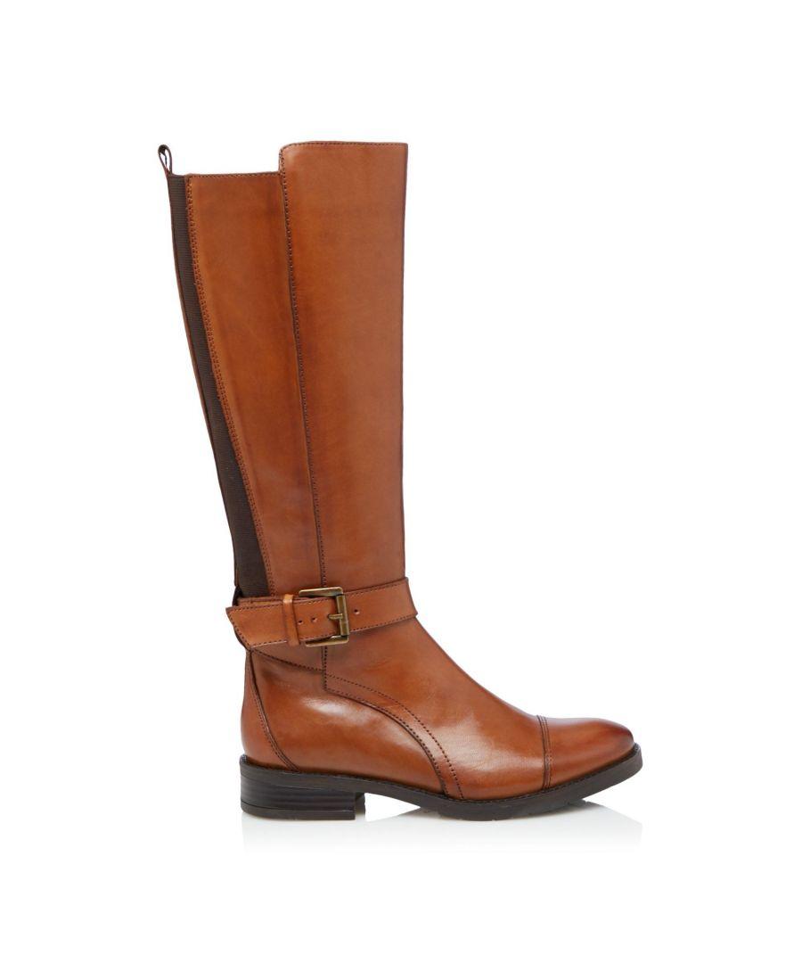 Image for Bertie Ladies TUSK  Knee High Zip Up Boots