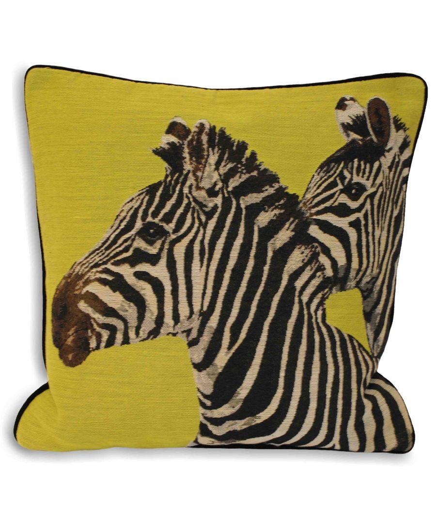 Image for Twin Zebra Cushion