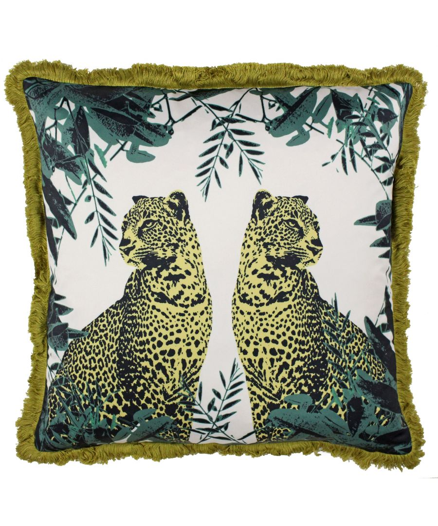 Image for Twin Leopard Cushion
