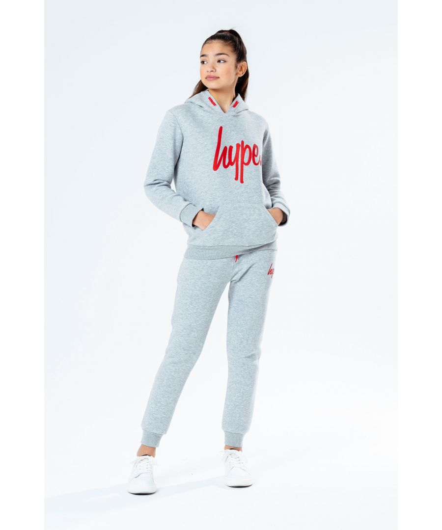 Image for Hype Grey Kids Tracksuit