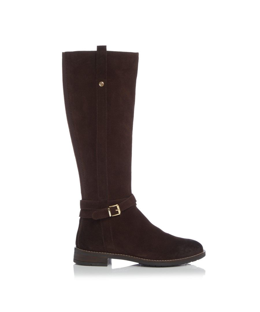 Image for Dune Ladies TYLAR Double Strap Knee High Boots
