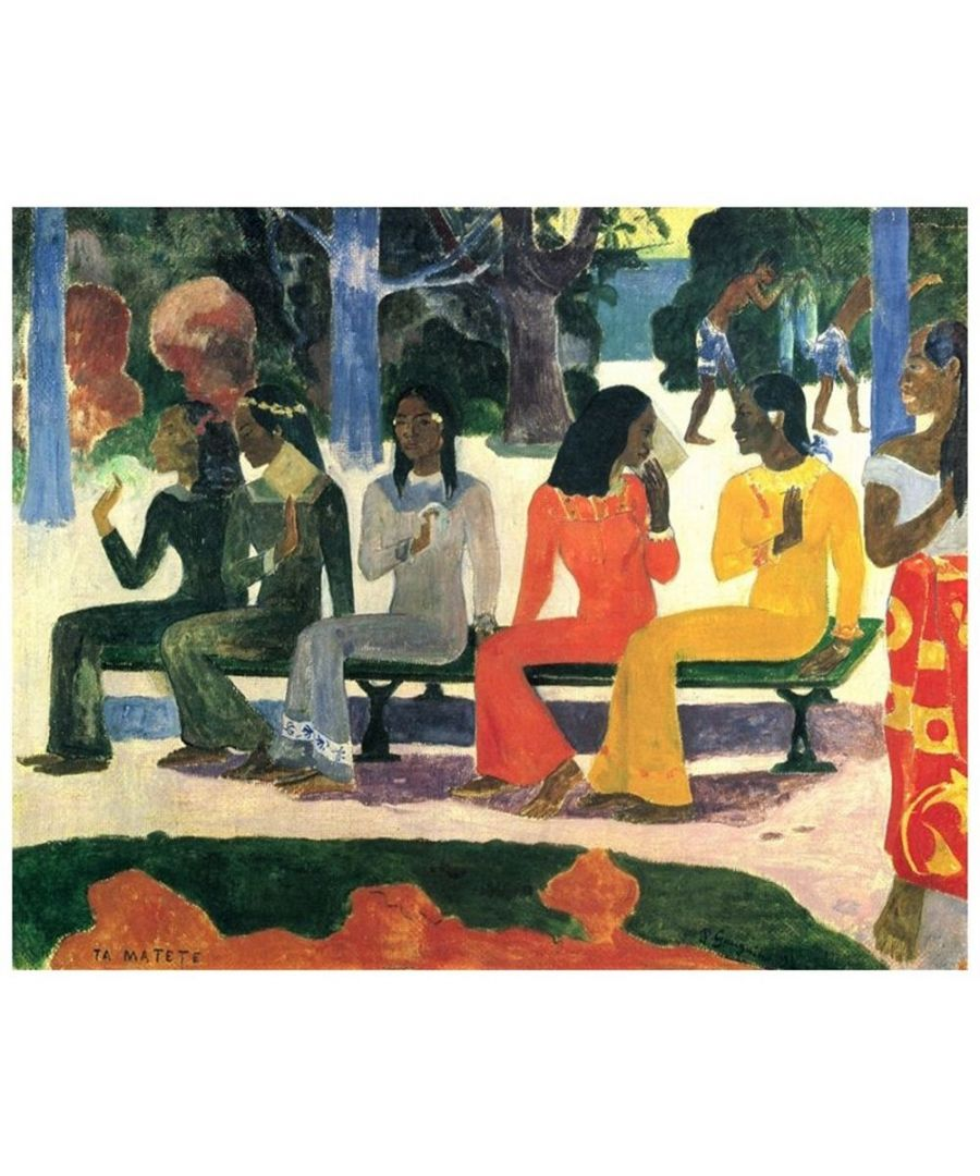 Image for Canvas Print - Ta Matete - Paul Gauguin Cm. 80x100