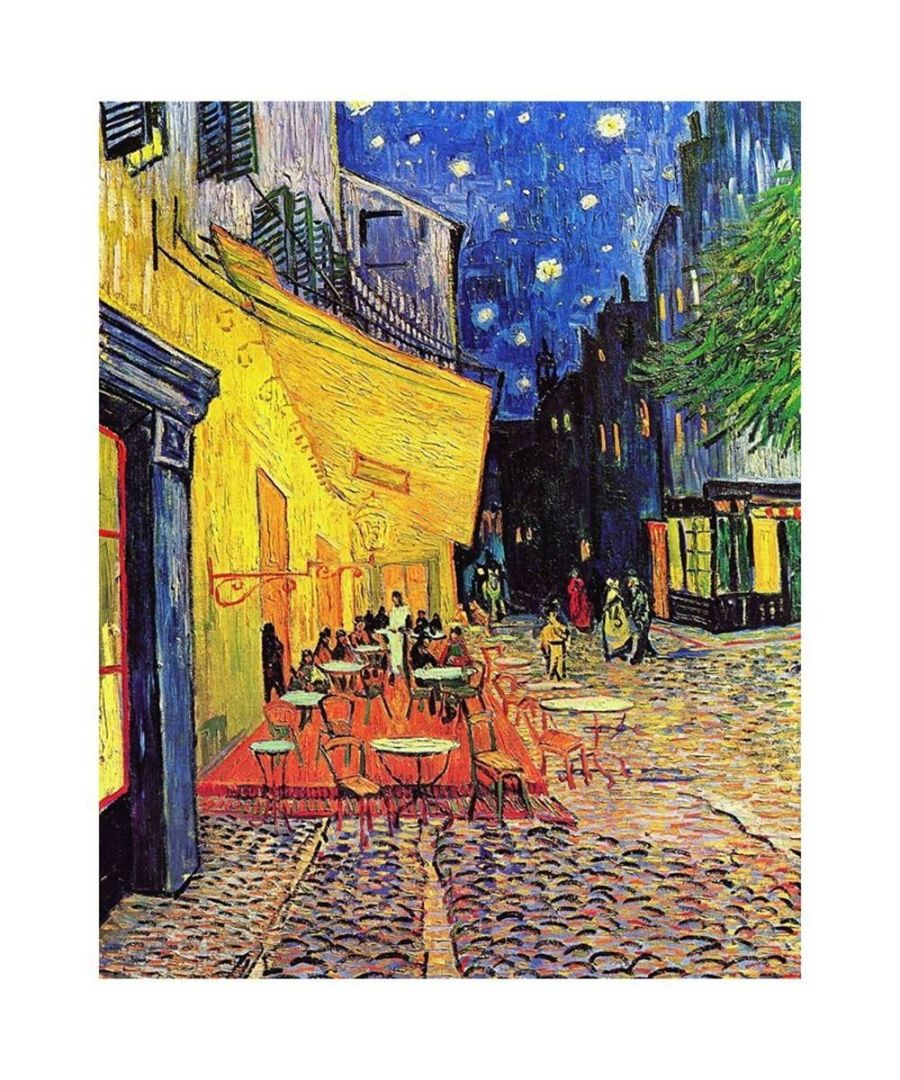 Image for Canvas Print - Café Terrace At Night - Vincent Van Gogh Cm. 80x100