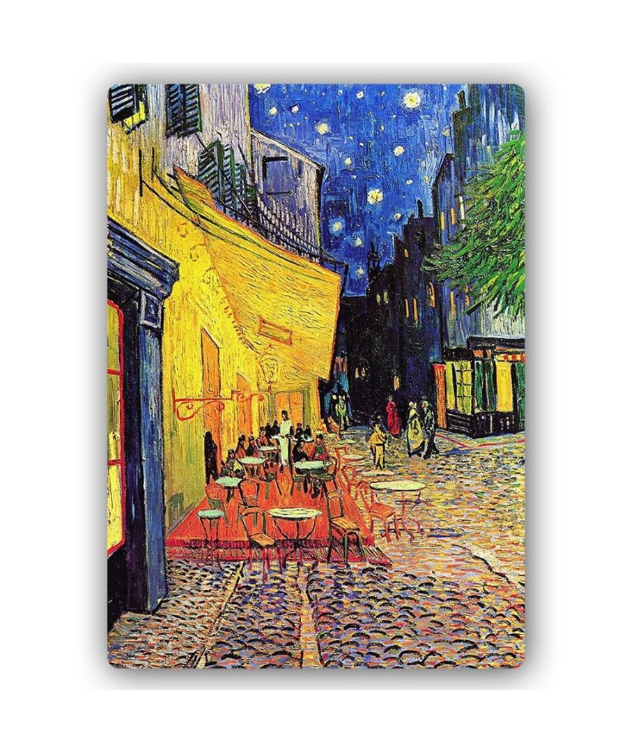 Image for Metal Print - Café Terrace At Night - Vincent Van Gogh