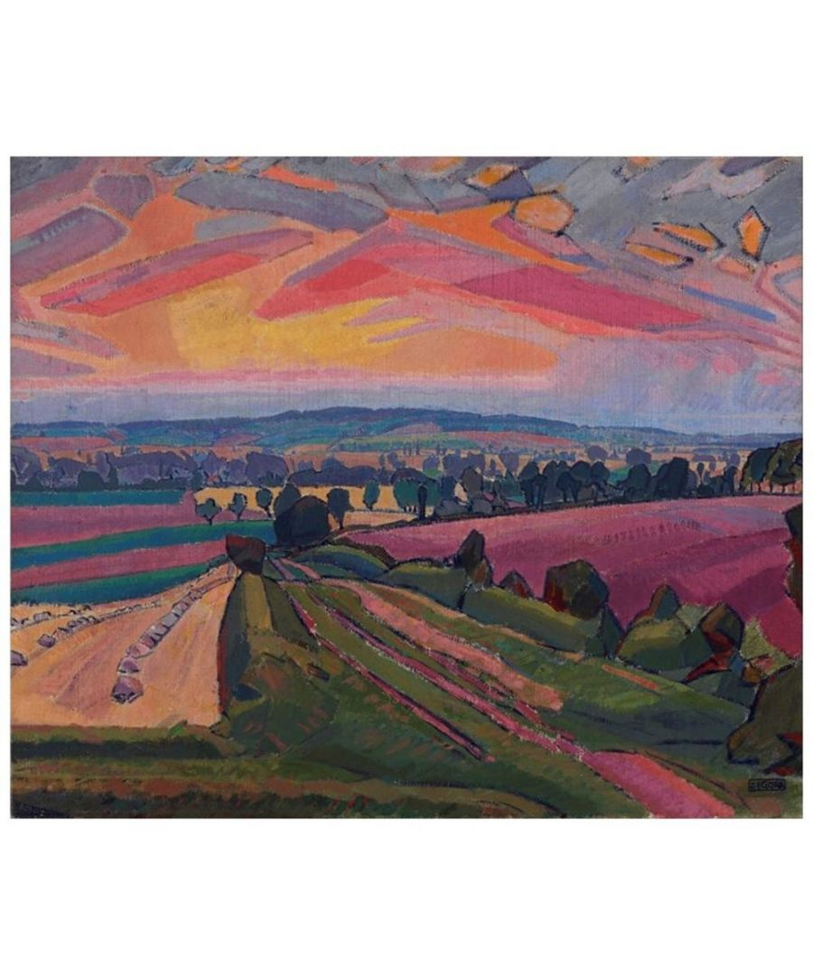 Image for Canvas Print - The Icknield Way - Spencer Gore - Cm. 50x60