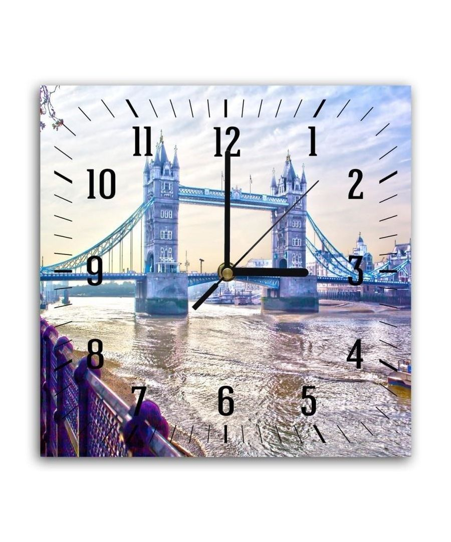Image for Wall Clock - Tower Bridge Cm. 30x30