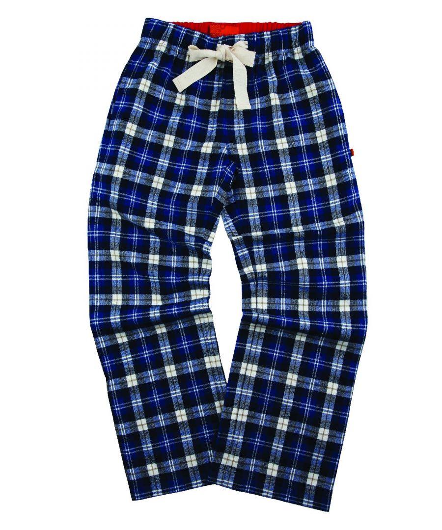 Image for Unisex Plaid Check Lounge Pants