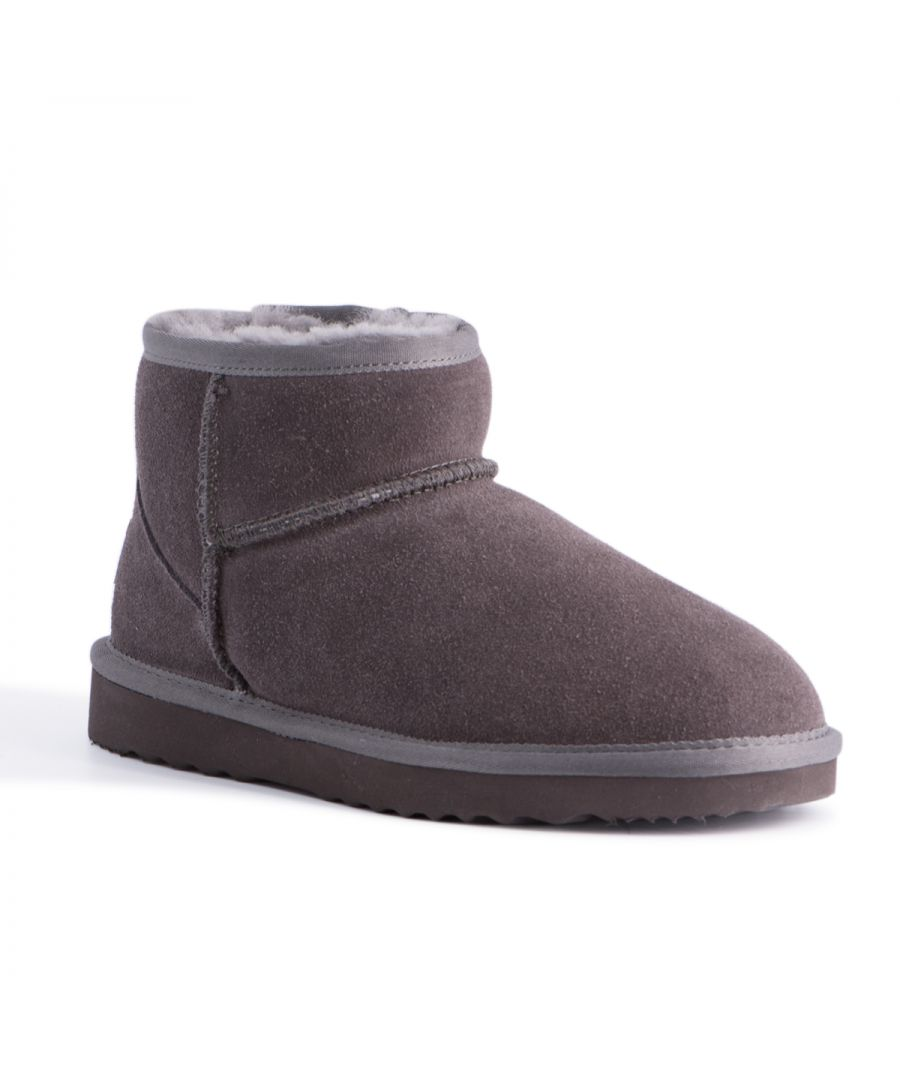 Image for Aus Wooli Australia Short Sheepskin Ankle Boot