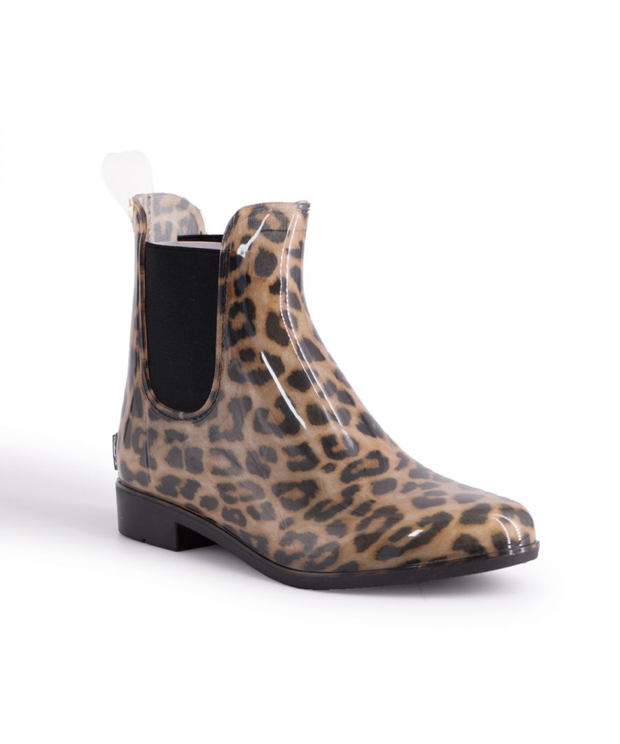 Image for Aus Wooli Australia Womens Rainboots With Sheepskin Insole Included LEOPARD