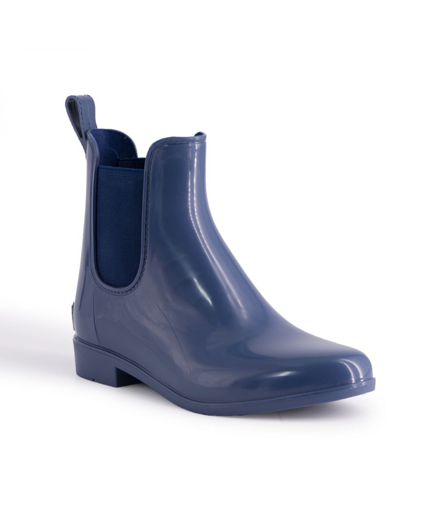 Image for Aus Wooli Australia Womens Rainboots With Sheepskin Insole in Navy