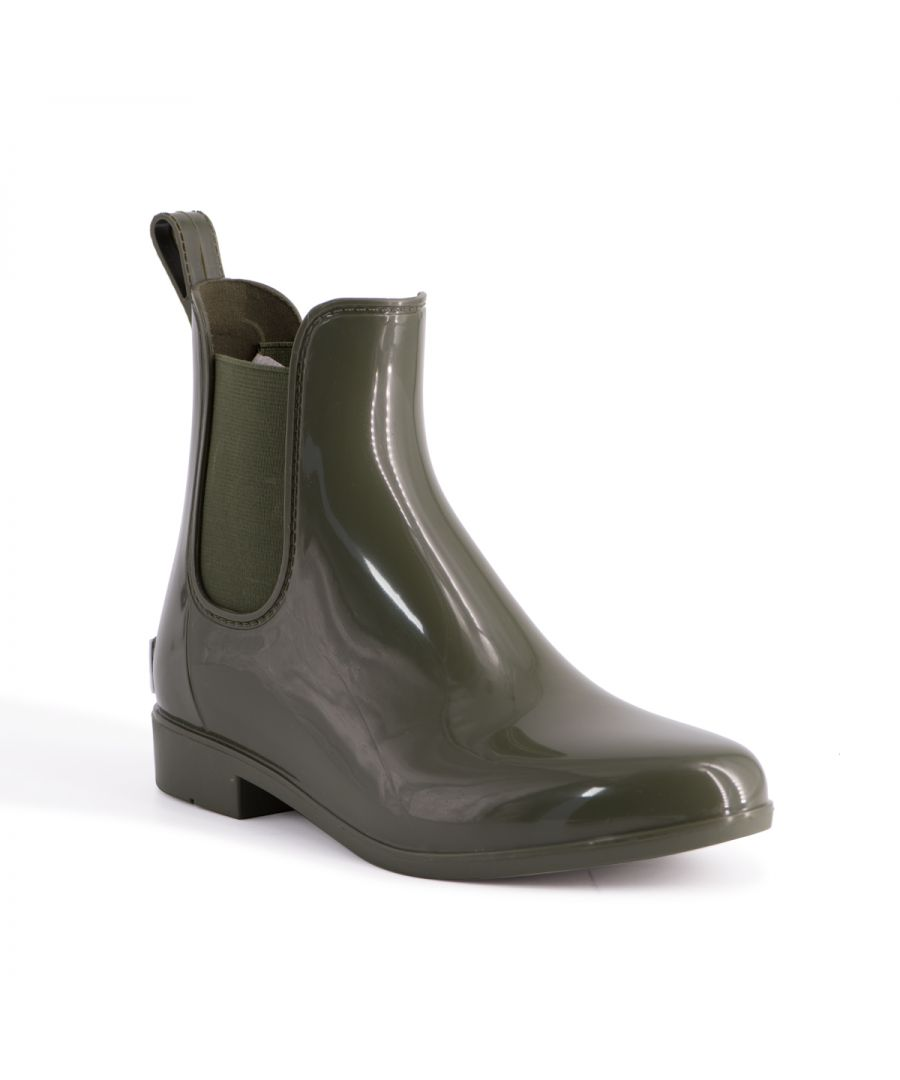 Image for Aus Wooli Australia Womens Rainboots With Sheepskin Insole in Olive
