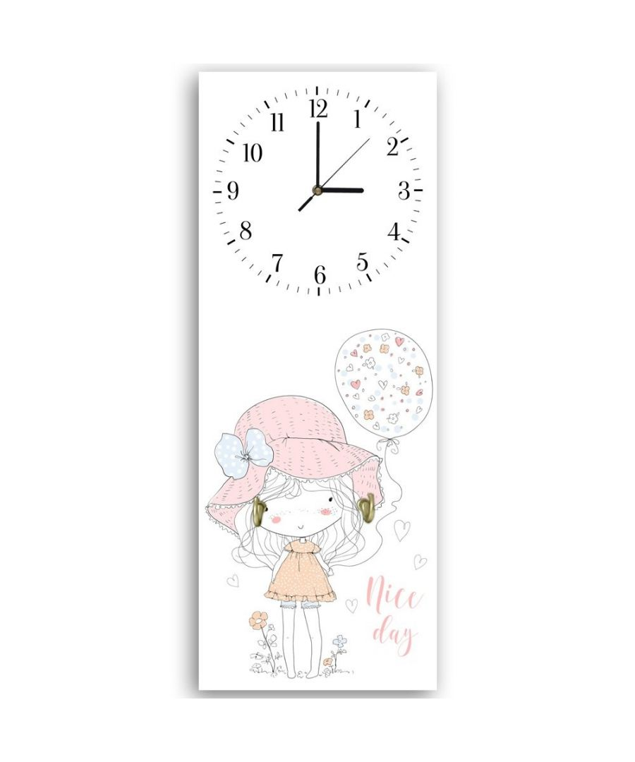 Image for Wall Clock - A Little Girl From Another Era Cm. 30x90