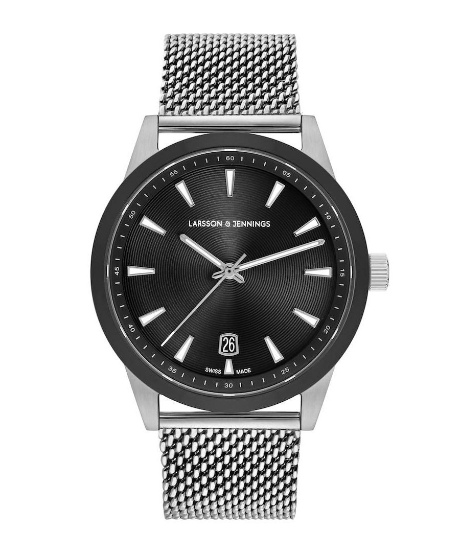 Image for Velo Textured Sunray Milanese 39mm