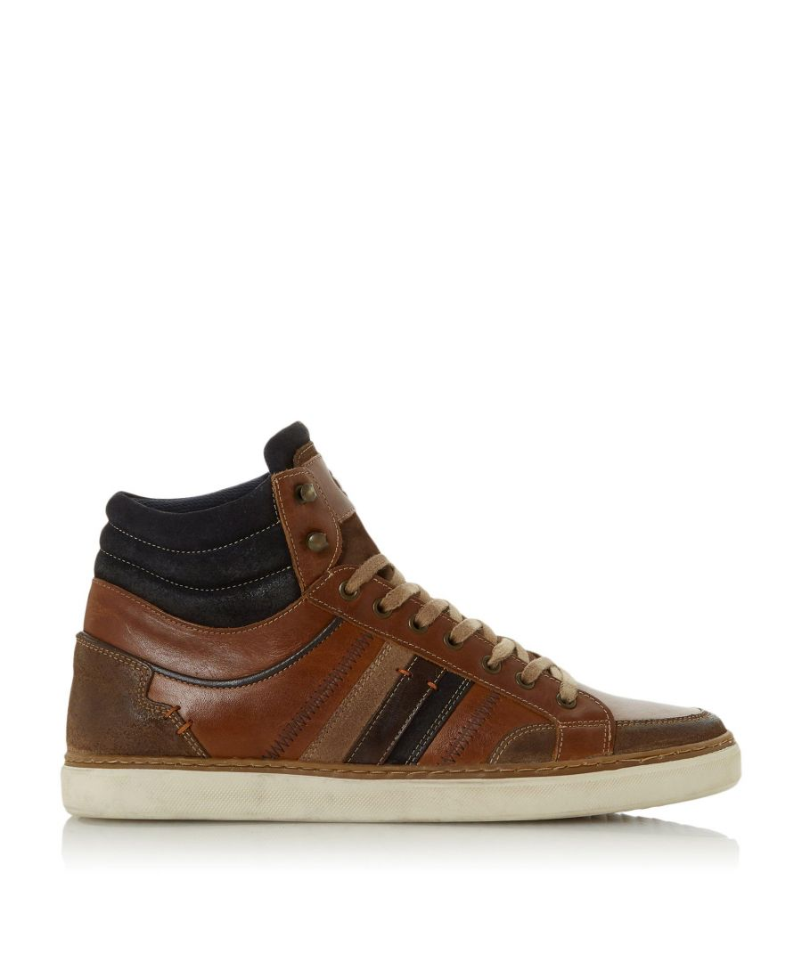 Image for Dune Mens VERNONN Lace-Up High Top Trainers