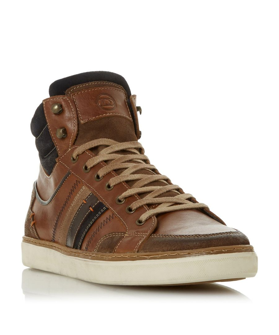 Image for Dune Mens VERNONN Lace-Up High Top Trainer