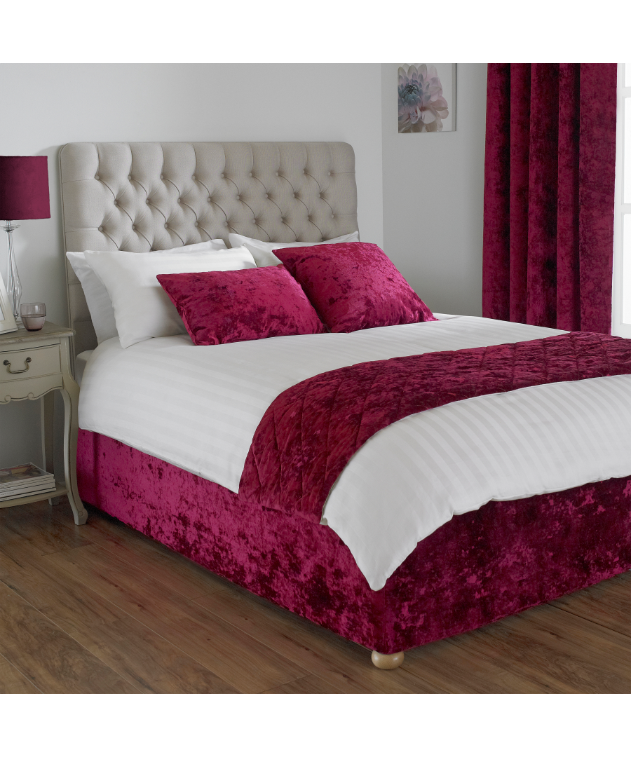 Image for Verona Bed Wrap King Wine