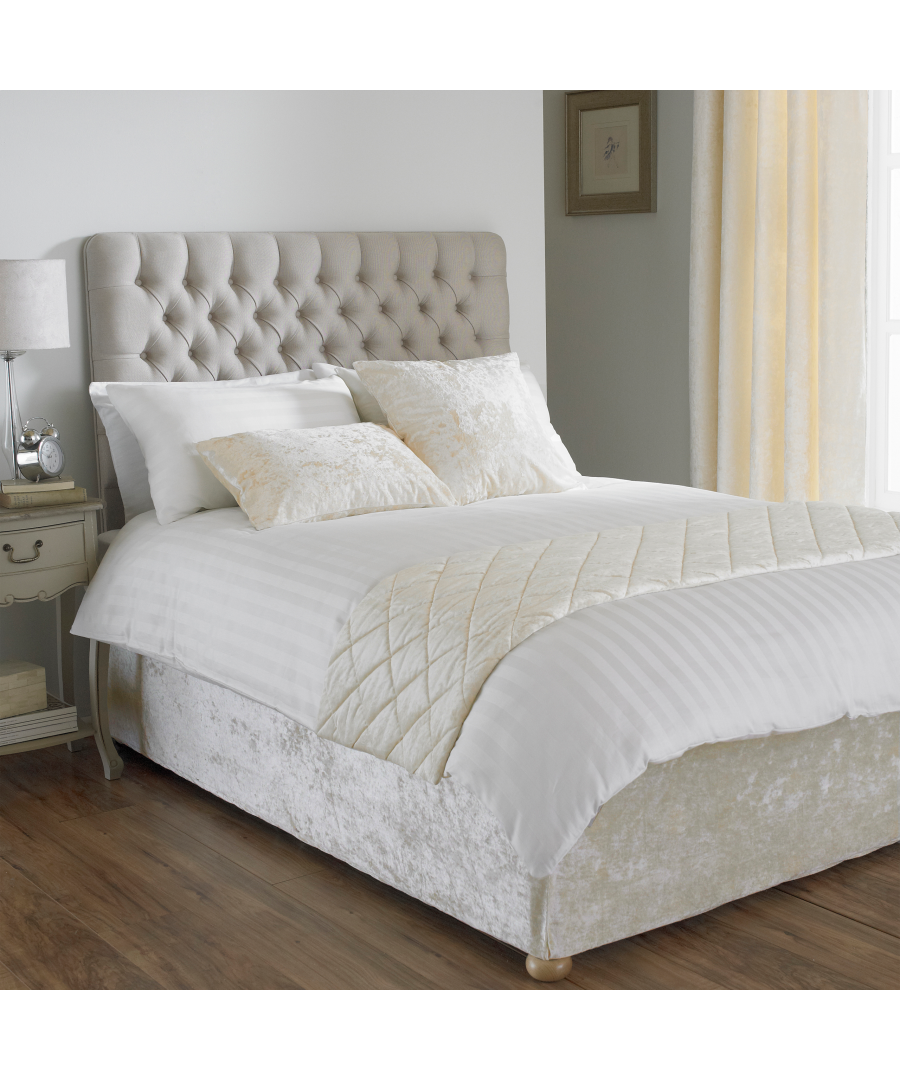 Image for Verona Bed Wrap SKing Ivory
