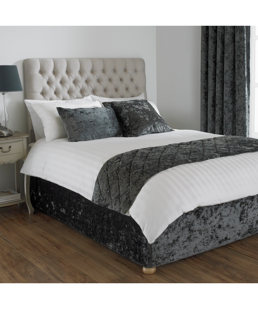 Image for Verona Bed Wrap SKing Pewter