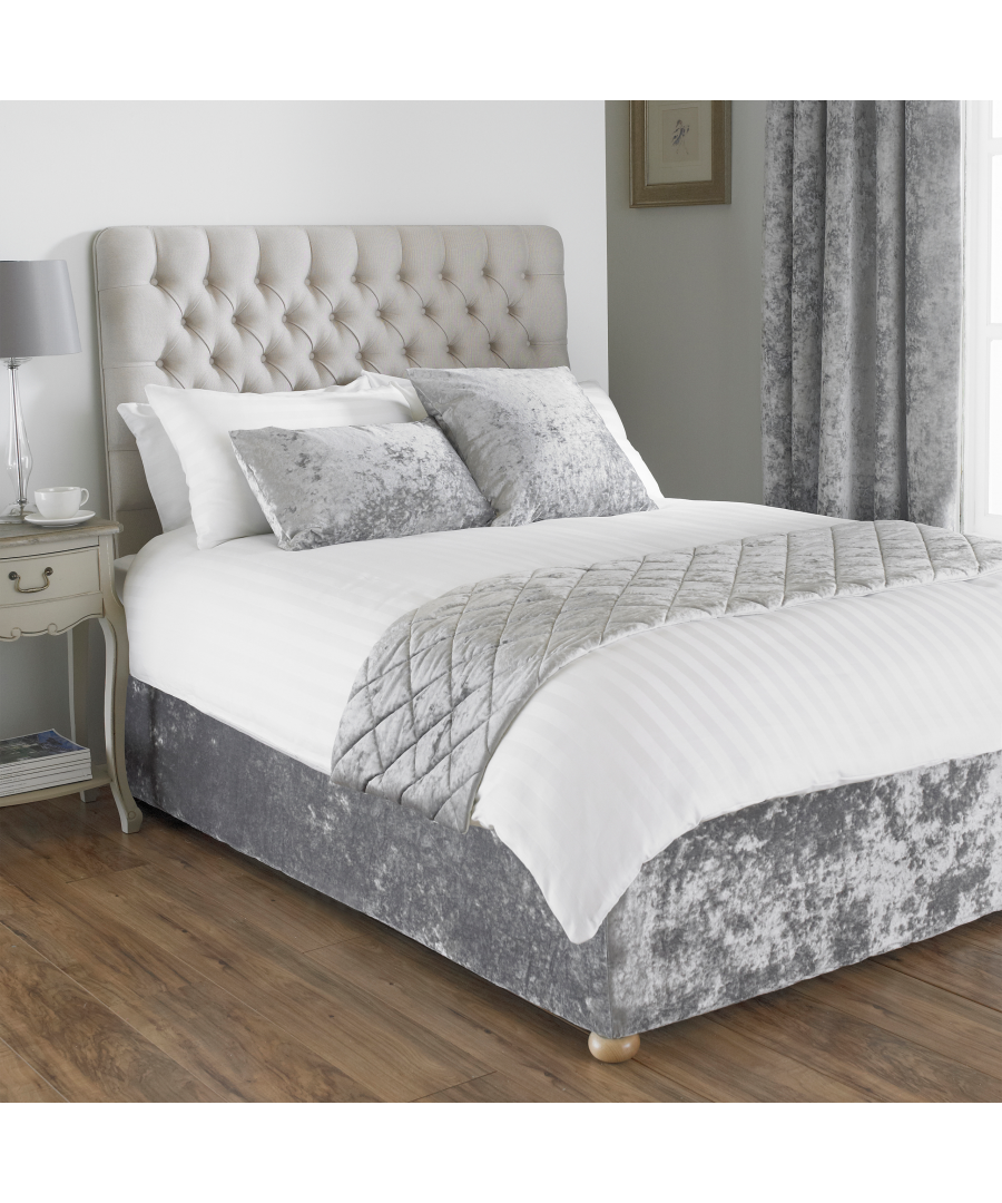 Image for Verona Bed Wrap SKing Silver