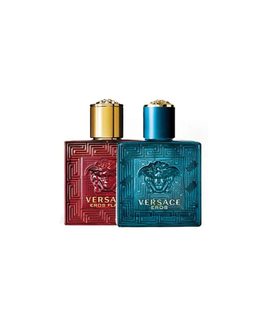 Image for VERSACE HOMME DUO: EROS + EROS FLAME 2 X EDT 30ML