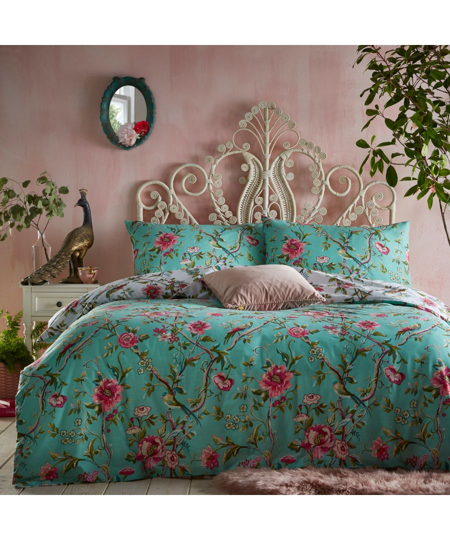 Image for Vintage Chinoiserie Duvet Cover Set
