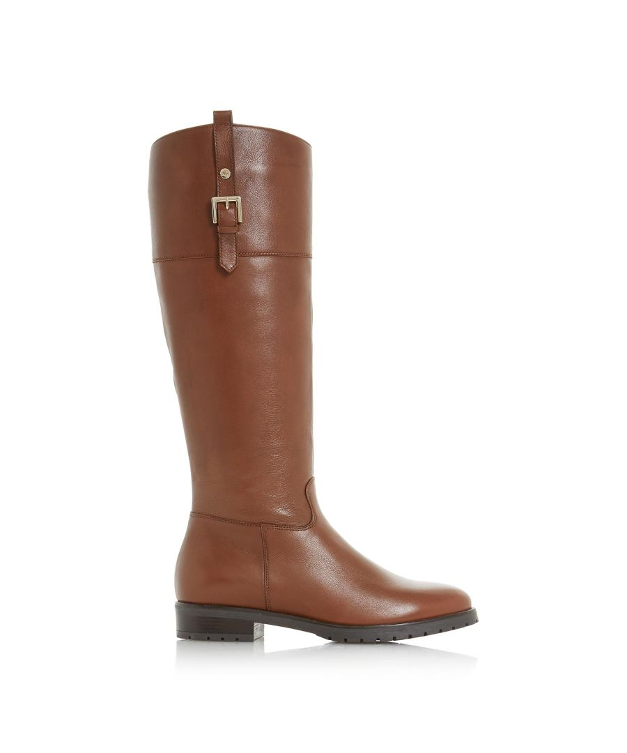 Image for Dune Ladies VINE Buckle Knee High Riding Boots