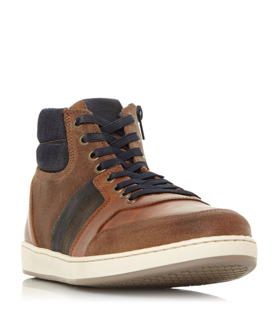 Image for Dune Mens VOUCH High Top Trainer