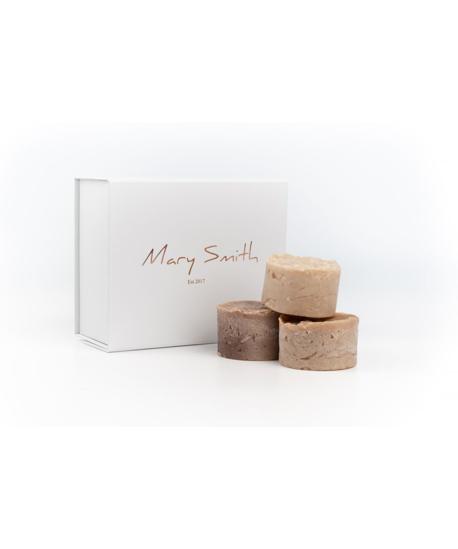 Image for 100% Natural & Vegan Friendly Soap Set - Vanilla & Sandalwood