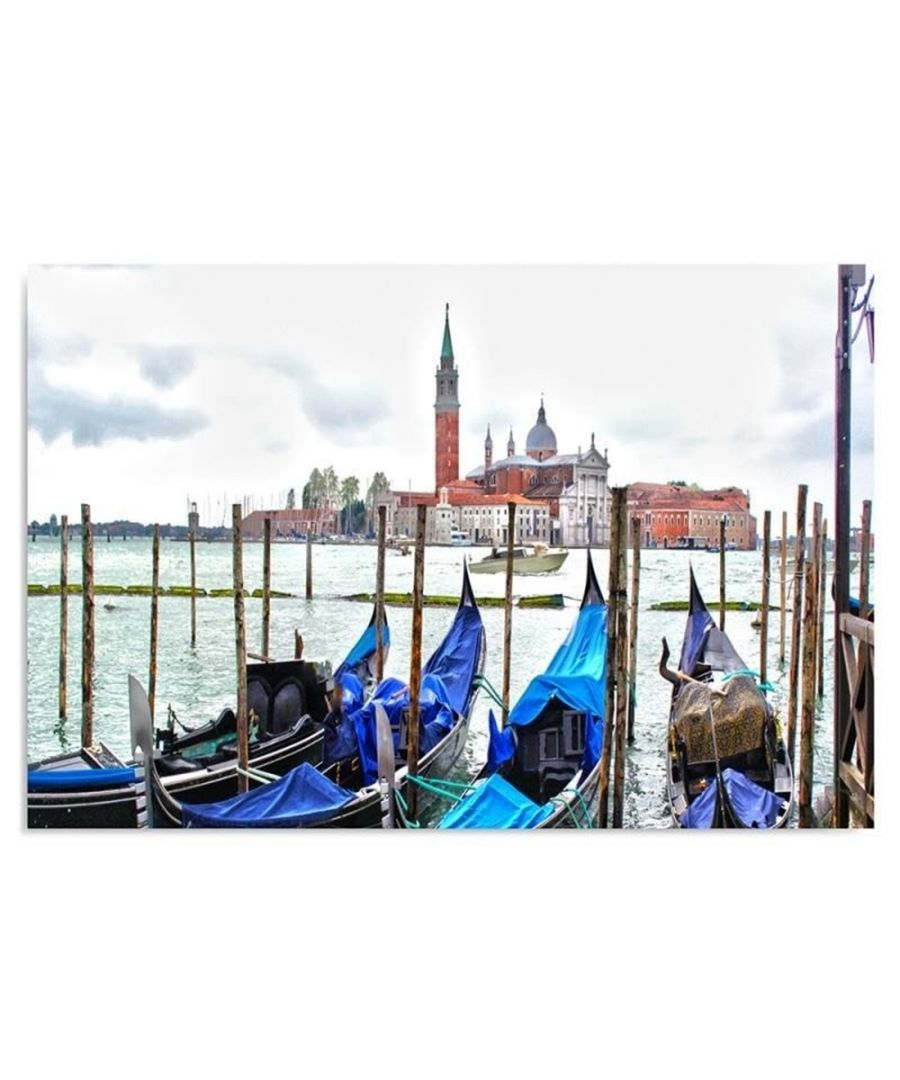 Image for Canvas Print - Venice And The Lagoon Cm. 80x100