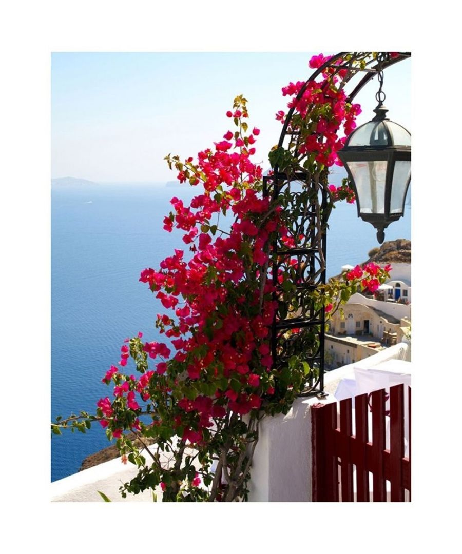 Image for Canvas Print - Mediterranean View Cm. 80x100
