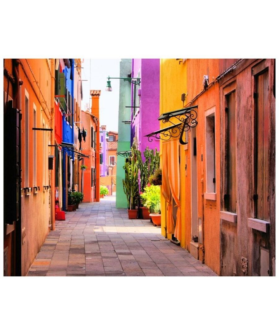 Image for Canvas Print - Lanes In Colour Cm. 80x100