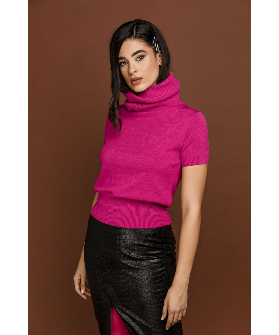 Image for Fuchsia Short Sleeve Pullover