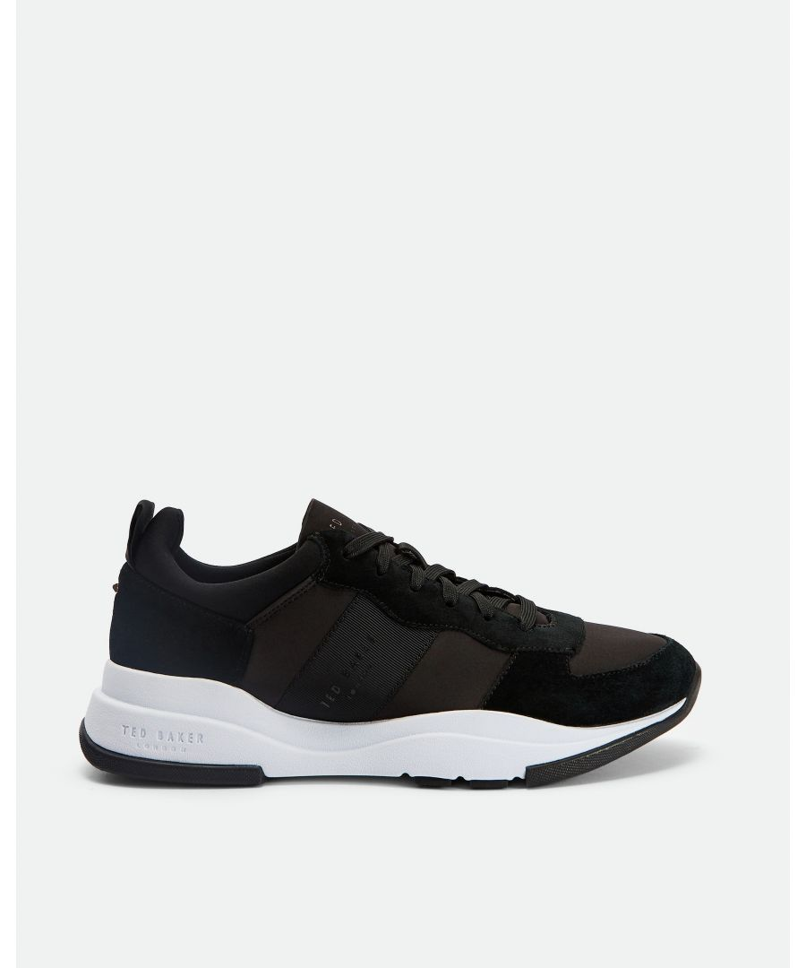Image for Ted Baker Waverdi Layered Sole Trainers, Black