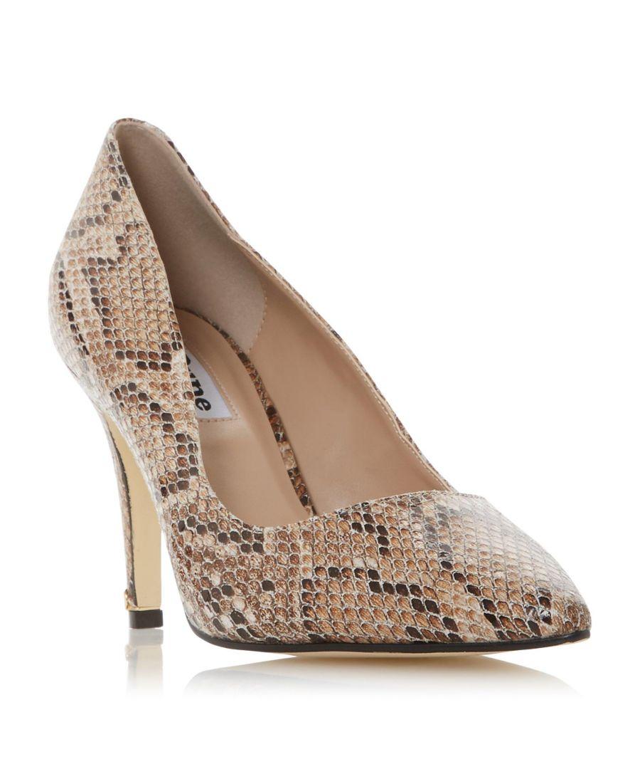 Image for Dune Ladies WF ANNA Croc-Effect Court Shoe