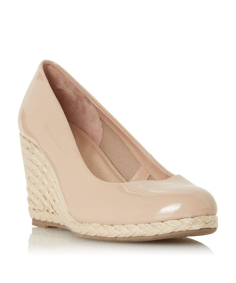 Image for Dune Ladies WF ANNABELS Wide Fit Wedge Heel Espadrille Shoe