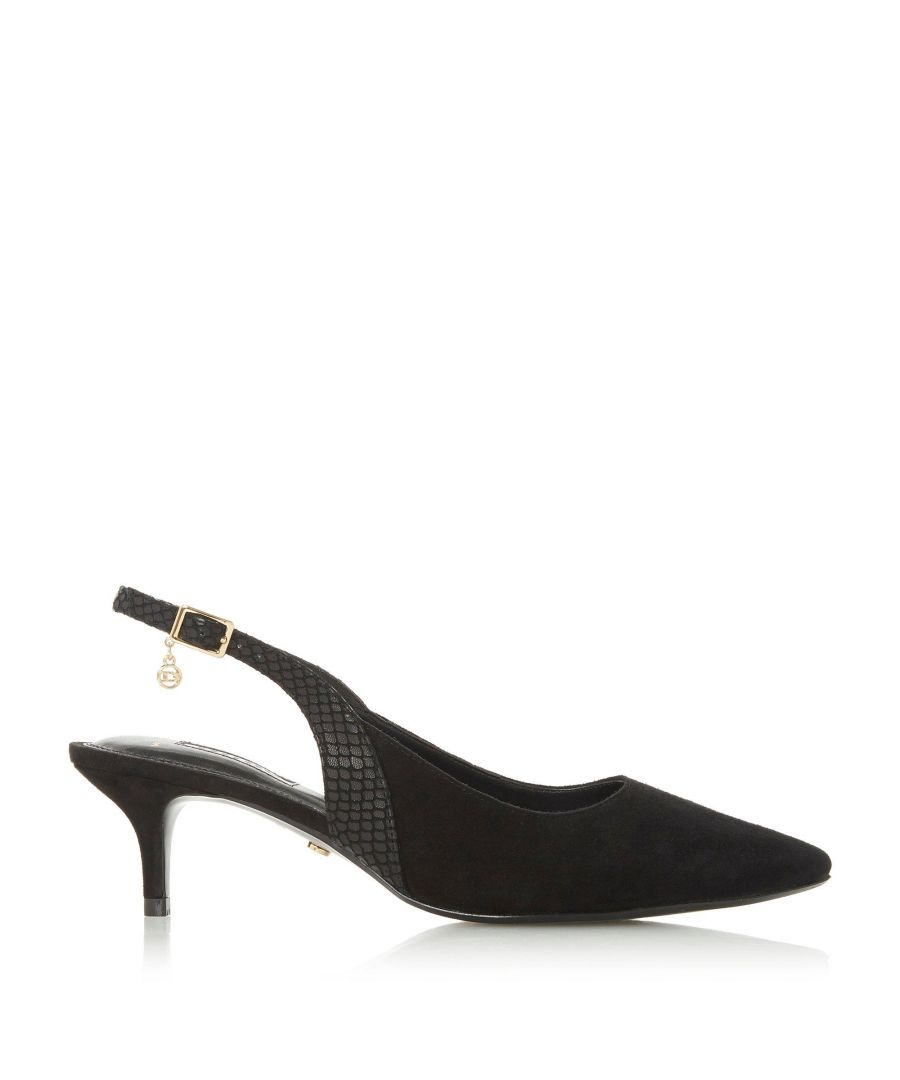Image for Dune Ladies WF CINDA Mixed Material Slingback Heel