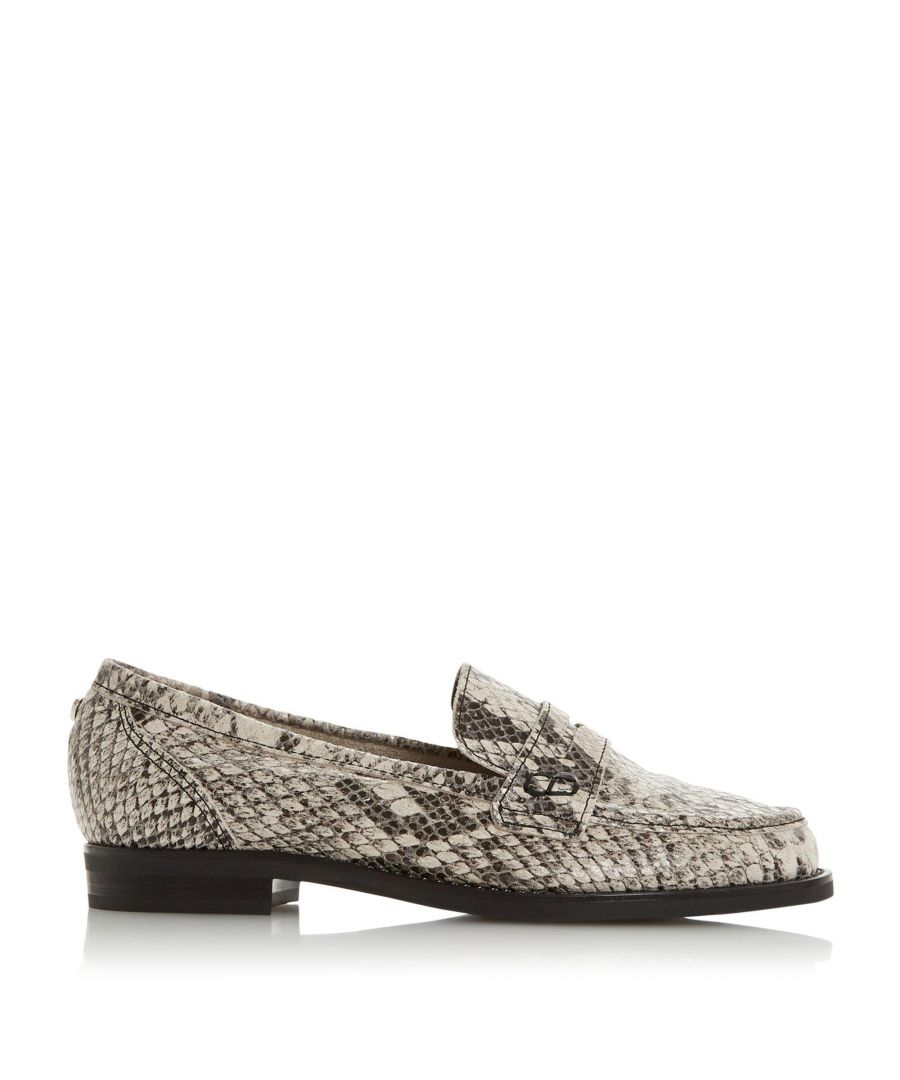 Image for Dune Ladies WF GRADY Wide Fit Unlined Slip On Loafer