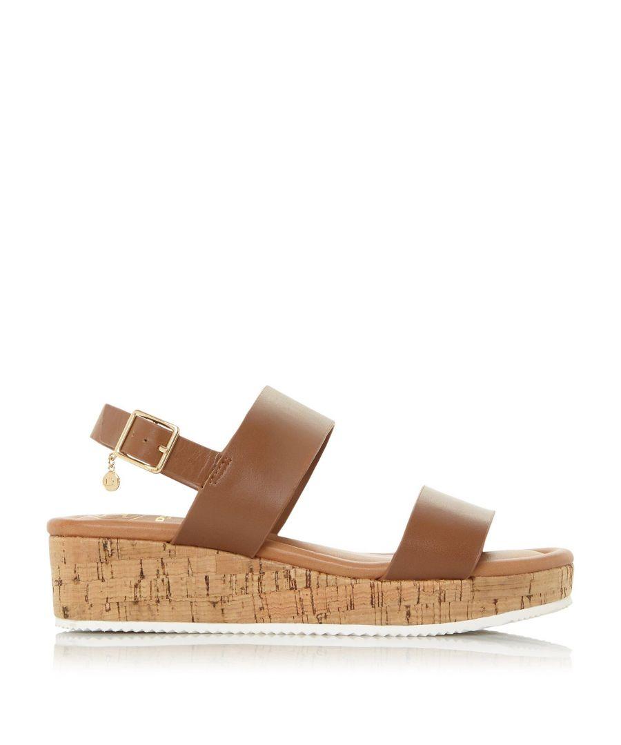 Image for Dune Ladies WF LENNIIE Mid Wedge Heel Sandals