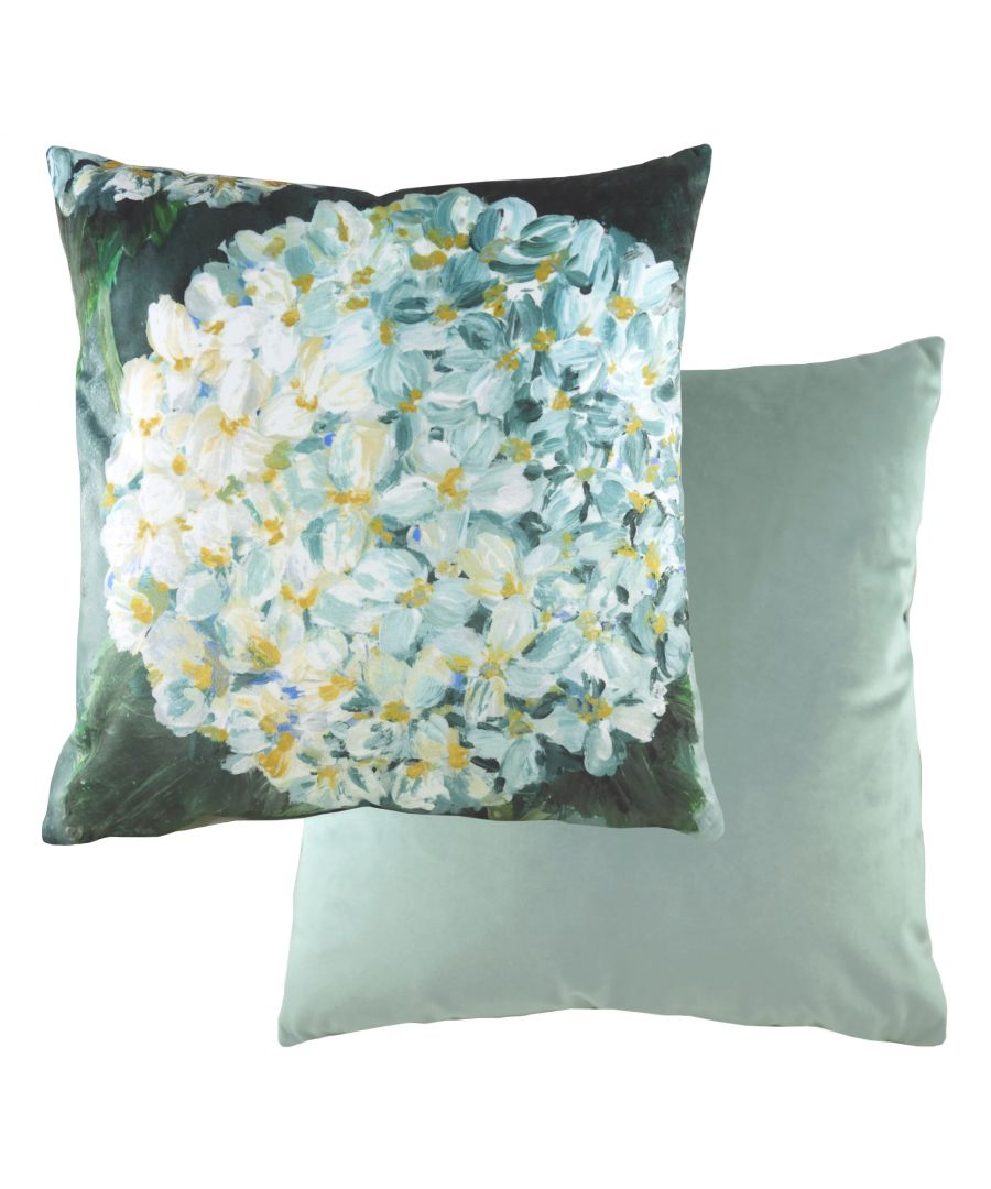 Image for Winter Florals Hydrangea Cushion