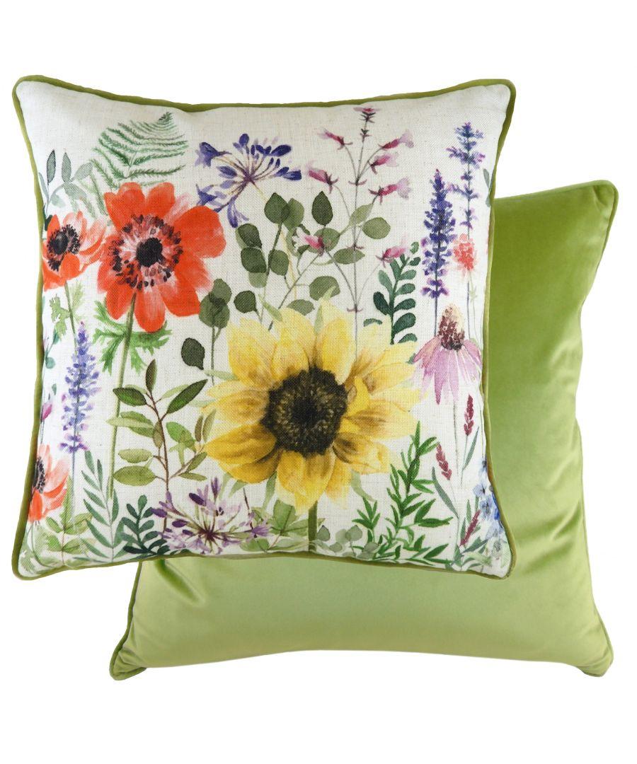 Image for Wild Flowers Emma Cushion