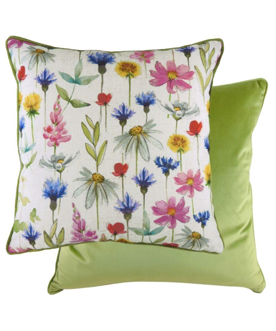 Image for Wild Flowers Sophia Cushion