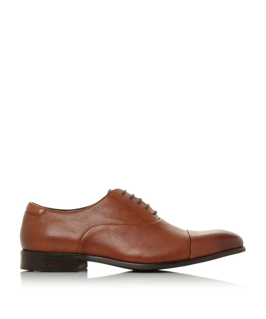 Image for Dune Mens WF SECRET Wide Fit Smart Oxford Shoes