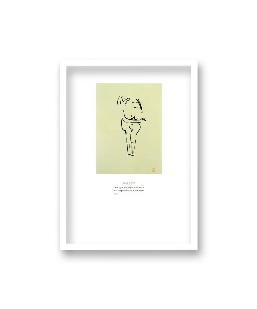 Image for John Lennon Personal Sketch Collection 12 Real Love - White Frame